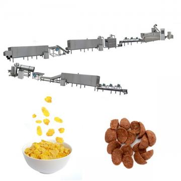 Automatic Crispy Snack Food Oats Kelloggs Corn Flakes Machine