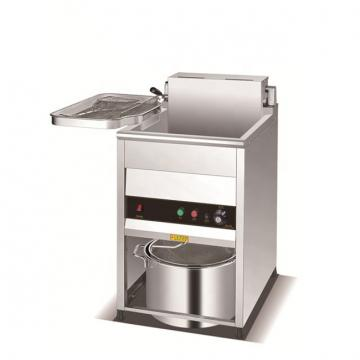 Stainless Steel Electric Fryer 1 Tank 1 Basket Commercial Using Hot Sale